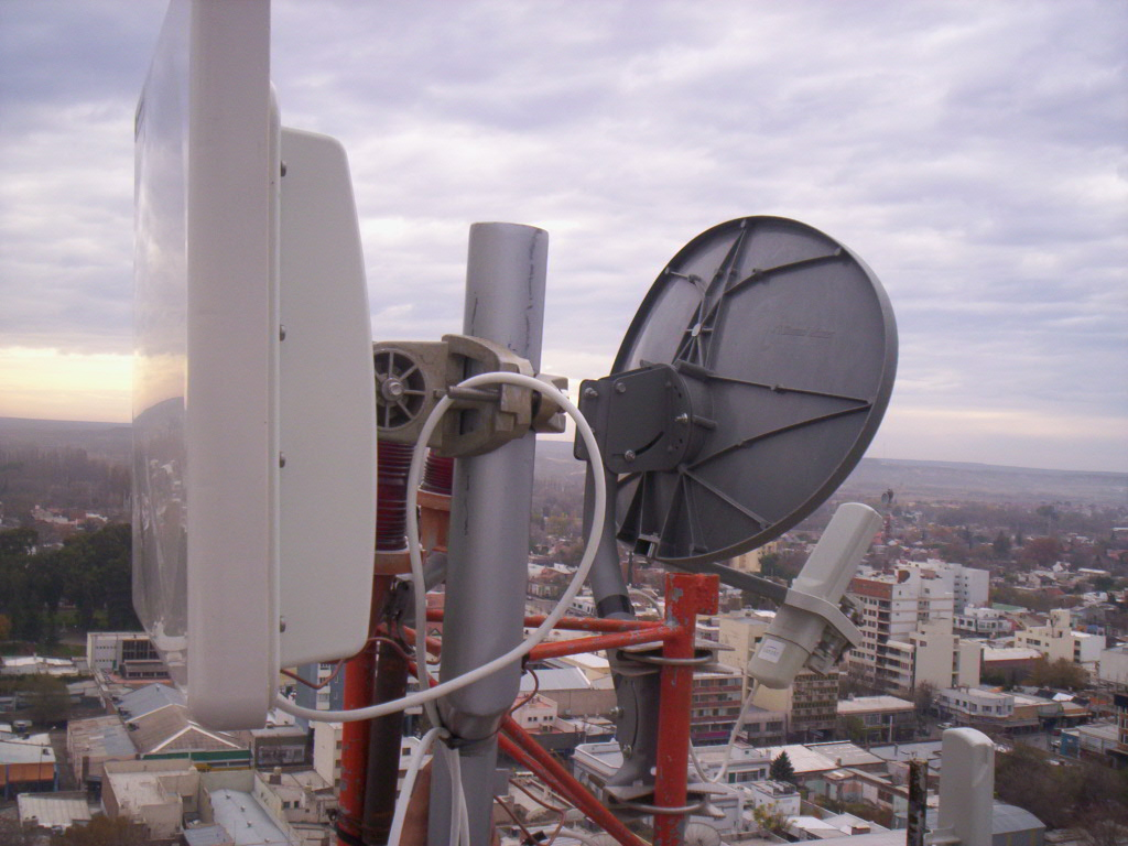 Internet satelital y red wireless en Compañía de Tierras Tecka S.A